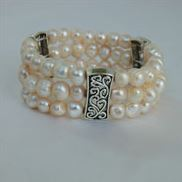 Non Silver Clasp and Elastic Bracelet